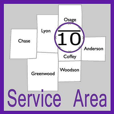 View the Bar Ten Appraisals Service Area